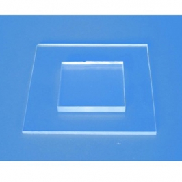 PMMA plate for microfluidic chip